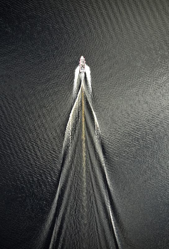 Usain Boat Aluminium Print