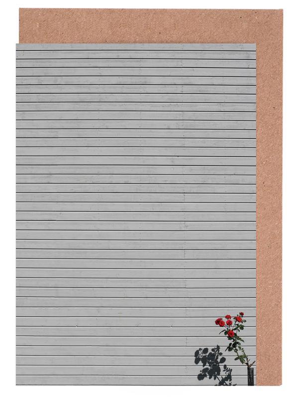 Single Rose Greeting Card Set