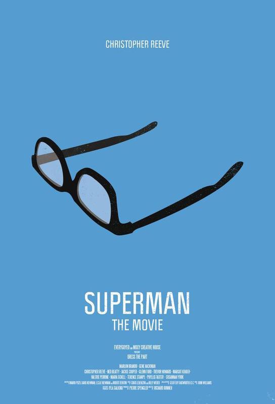 Superman -Acrylglasbild
