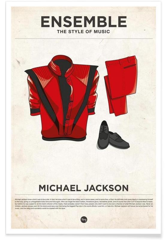 Michael Jackson-modestijl poster