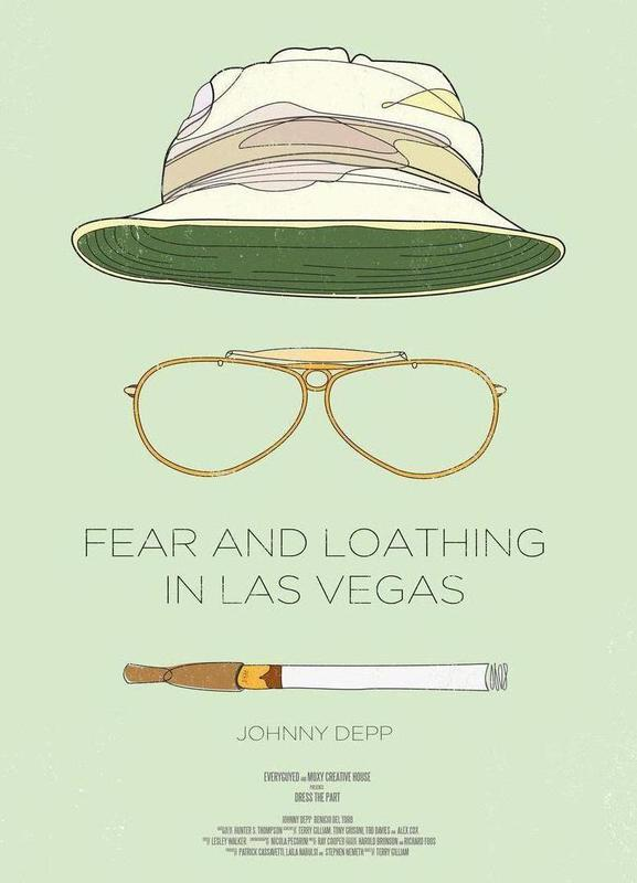 Fear and Loathing in Las Vegas -Leinwandbild