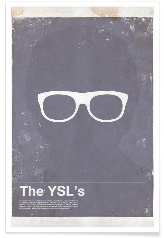 Lunettes de YSL affiche