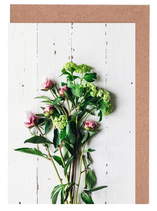Frühlingsblumen Grußkartenset   Dekoration > Dekopflanzen > Pflanzen   Mehrfarbig