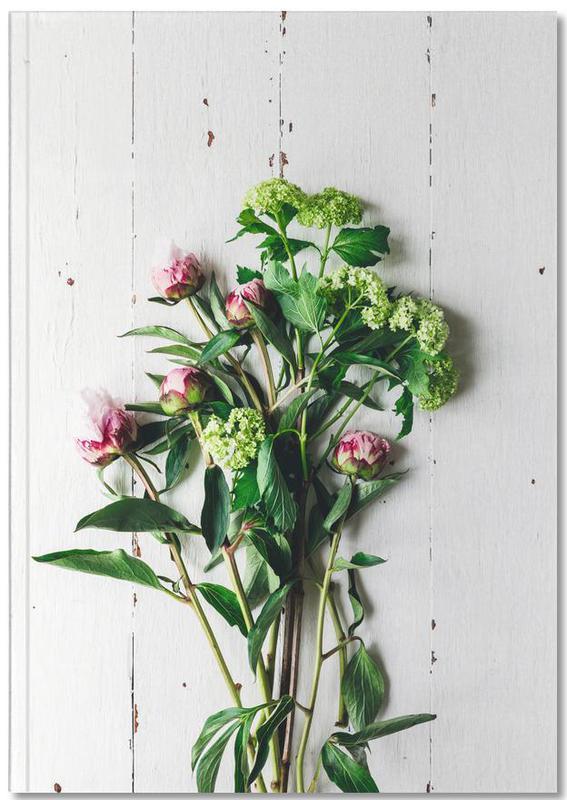 Frühlingsblumen Premium Notizbuch   Dekoration > Dekopflanzen > Pflanzen   Mehrfarbig   Papier