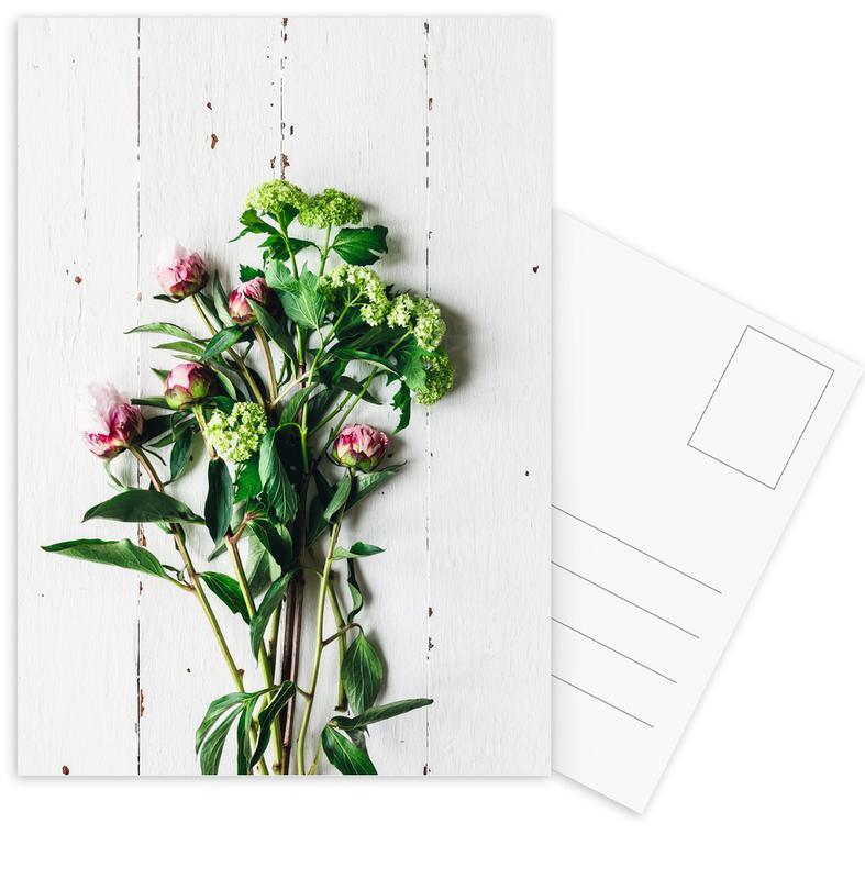 Frühlingsblumen Postkartenset   Dekoration > Dekopflanzen > Pflanzen   Mehrfarbig