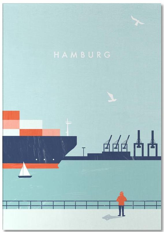 Hamburg -Notizblock