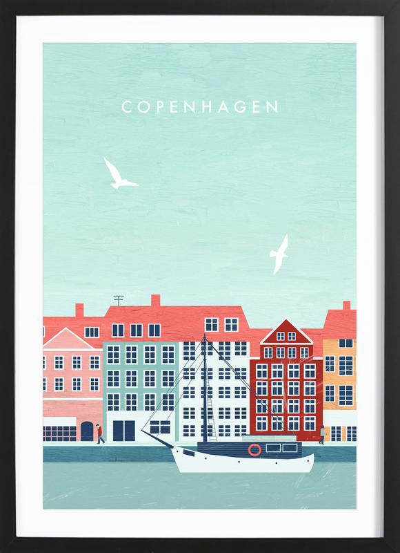Kopenhagen Framed Print