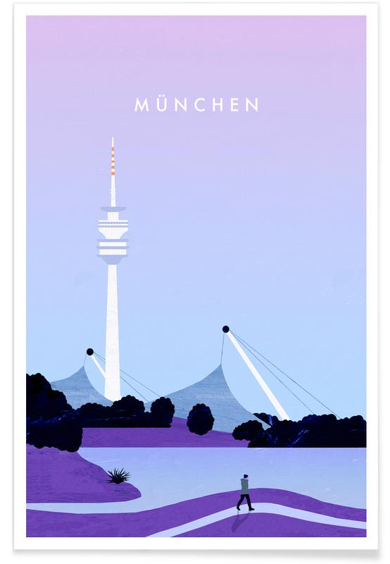 Retro Munich Poster