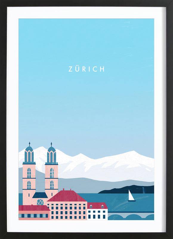 Zürich Framed Print