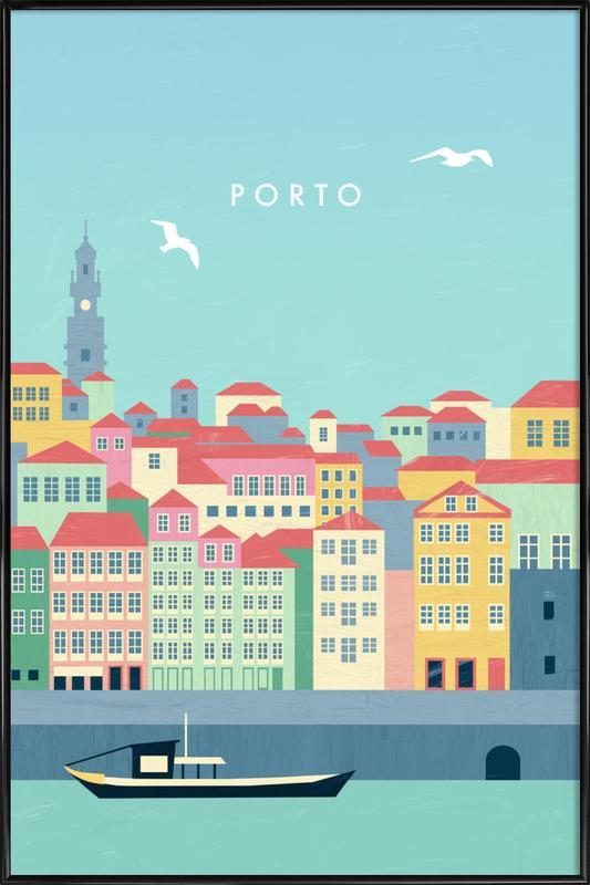 Porto Framed Poster