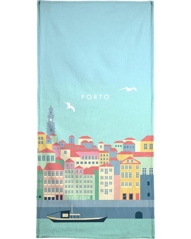 Porto -Strandtuch