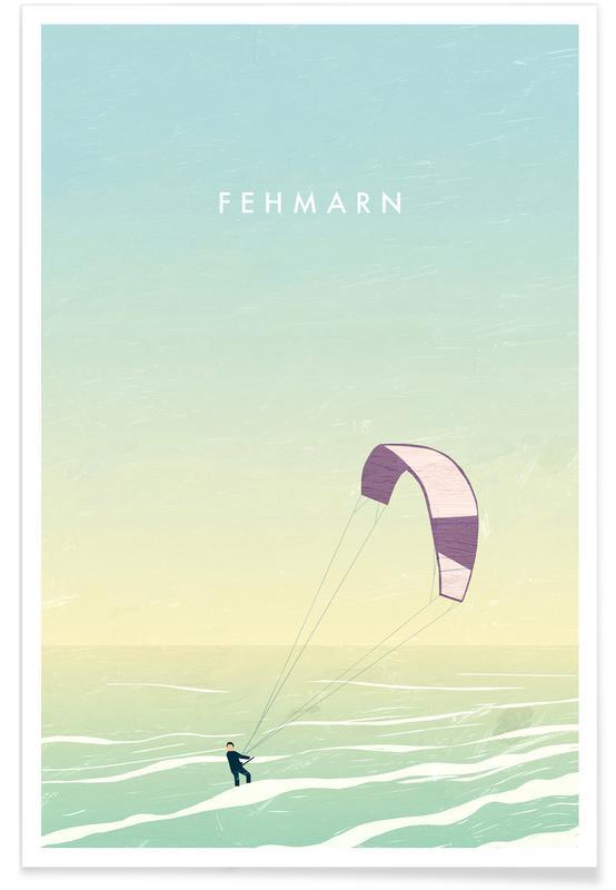 Fehmarn Premium Poster