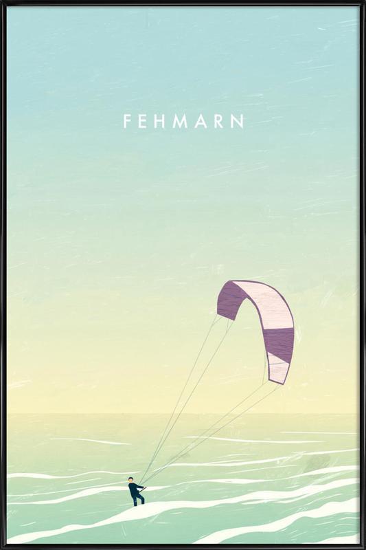Fehmarn Gerahmtes Poster
