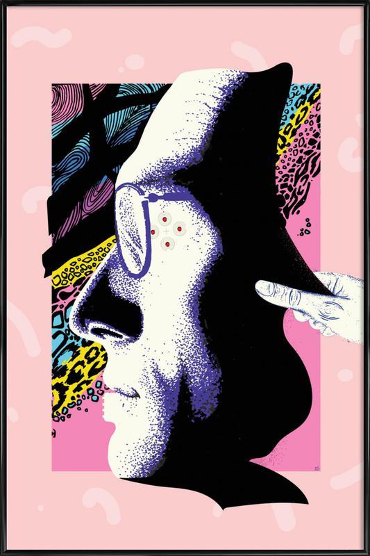 Cyborg Art affiche encadrée