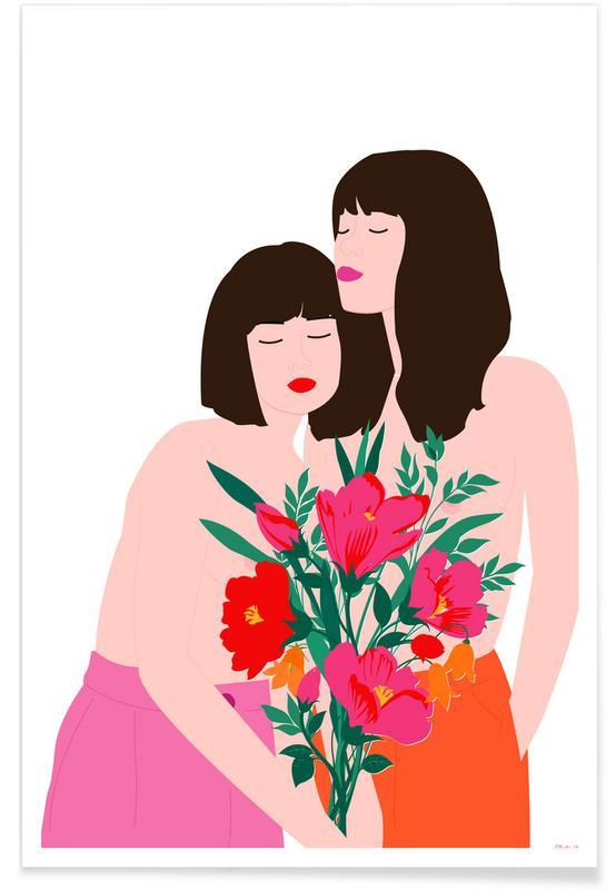 Spring Goddess -Poster