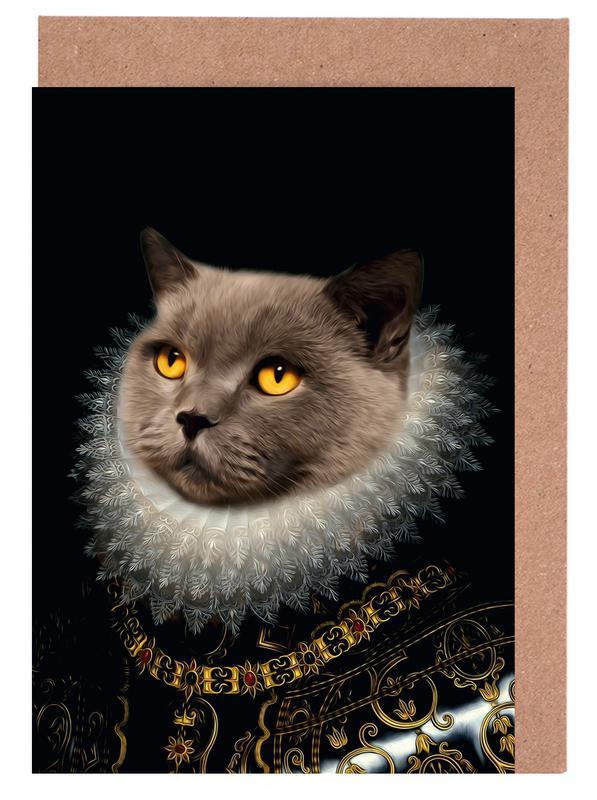 Golden Eyes cartes de vœux