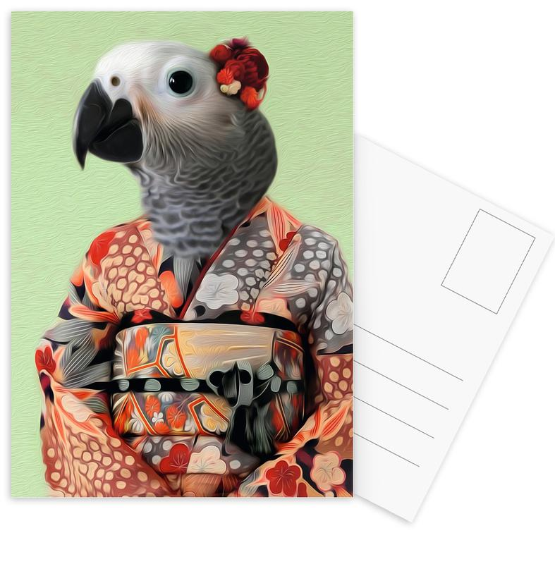 Miss Parrow cartes postales