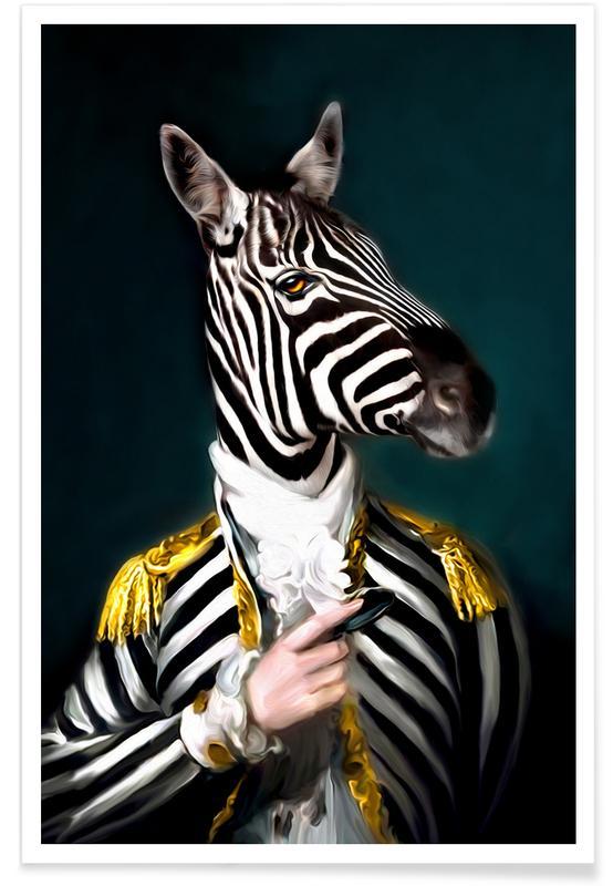 Mister Stripe poster