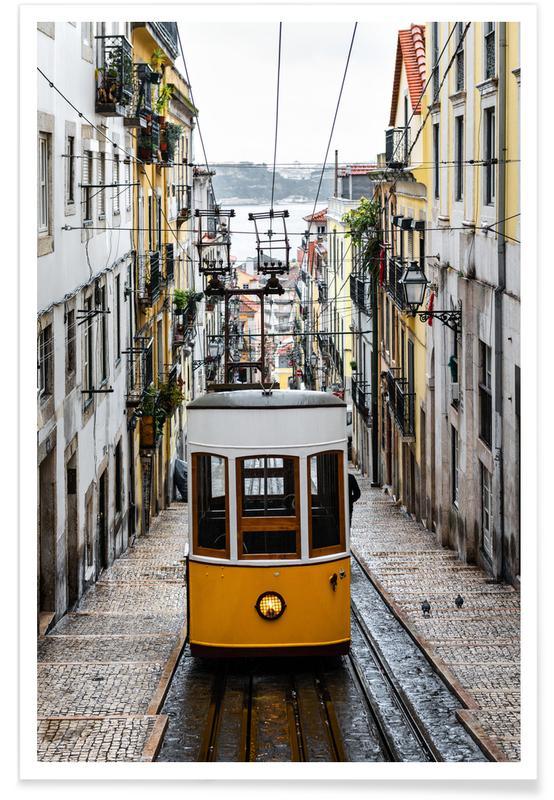 Yellow Tram Poster