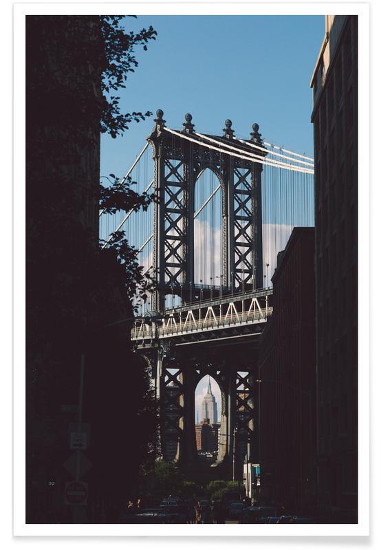 Bridge in Shadow Poster