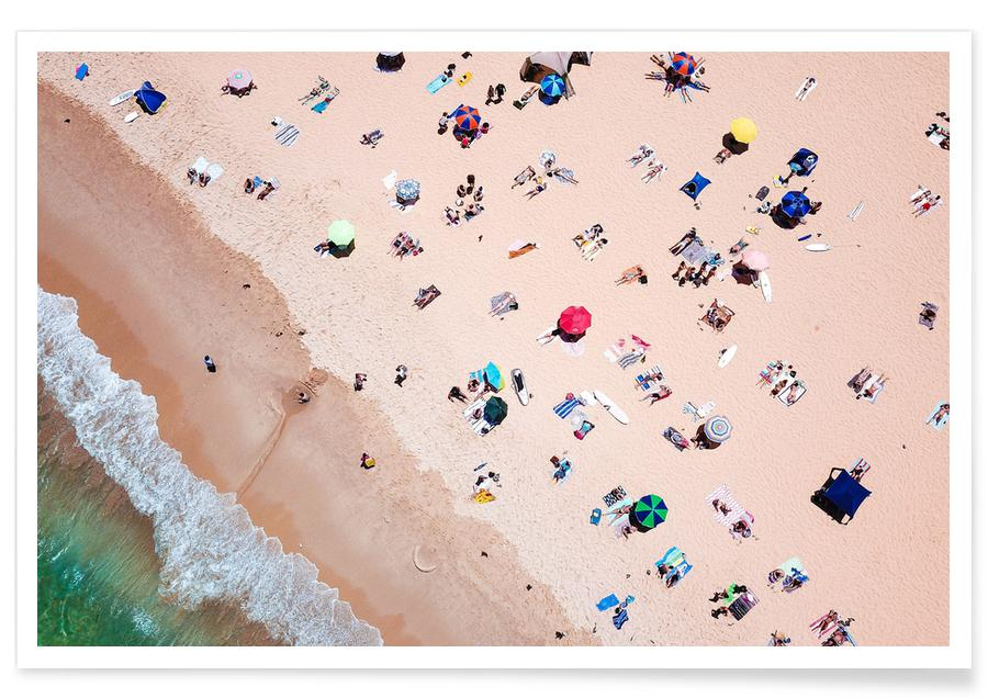 Beach from Above -Poster