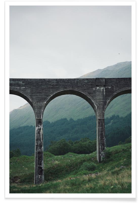 Slate Bridge Poster