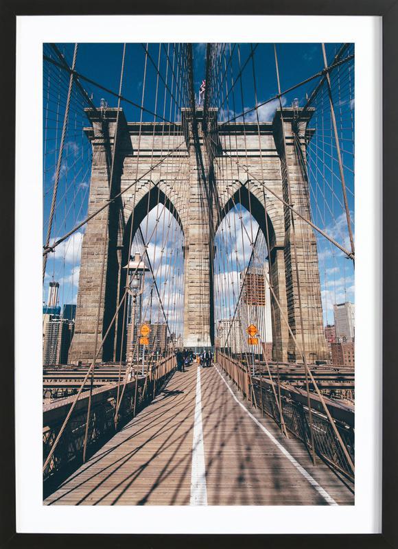 Crossing the Bridge poster con marco