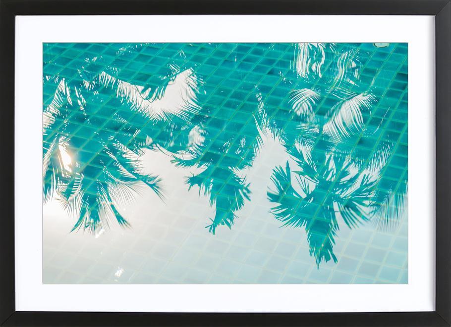 Miami Reflections by @Khoopatiphatnukoon Poster i träram