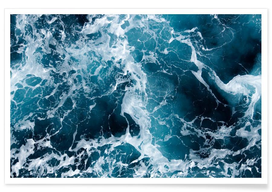 Meer Luftbildaufnahme -Poster
