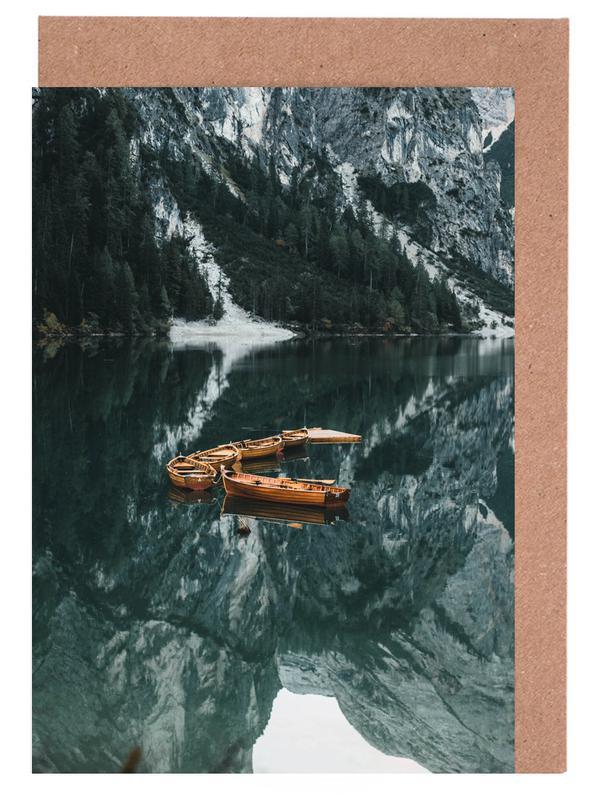 Orange Fleet by @DaniKla Greeting Card Set