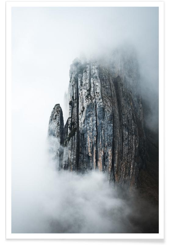 Through the Fog by @noberson Plakat
