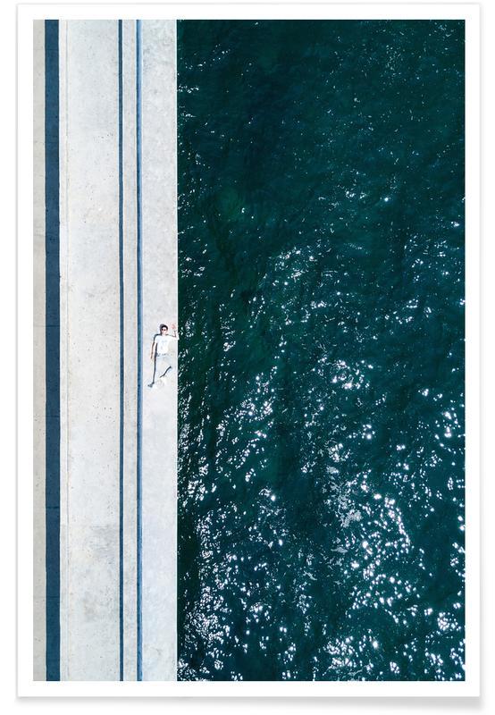 Pool in Parallel by Panagiotis Poster