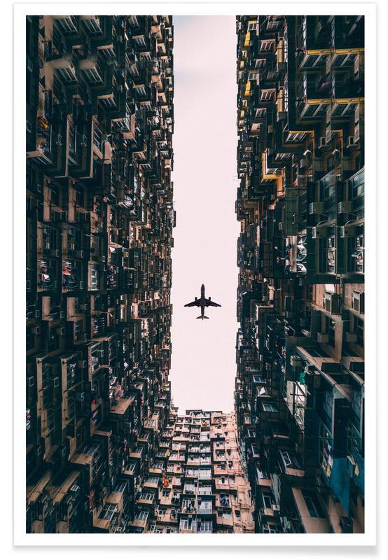Flugzeug-Fotografie -Poster
