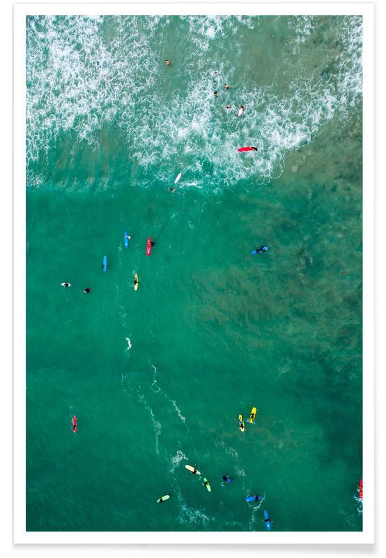Everybody's Gone Surfin' by Lentam Poster