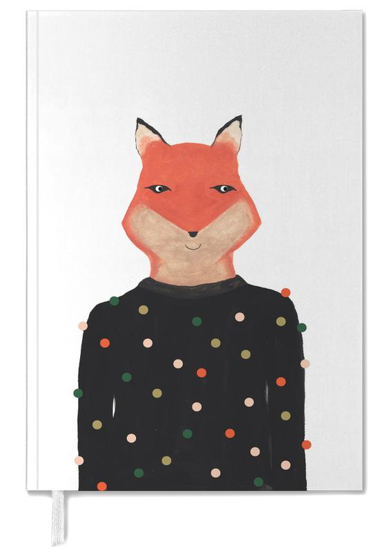 Fox with Sweater Personal Planner