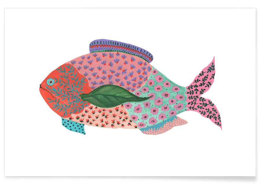 Fancy Fish Poster