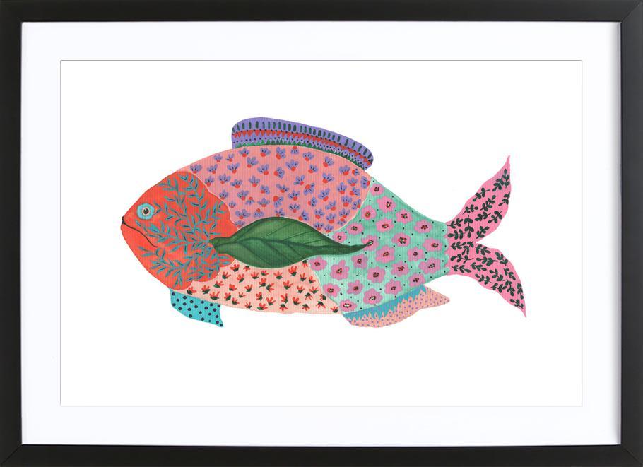 Fancy Fish Framed Print