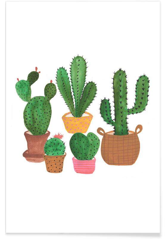Cactus Family -Poster
