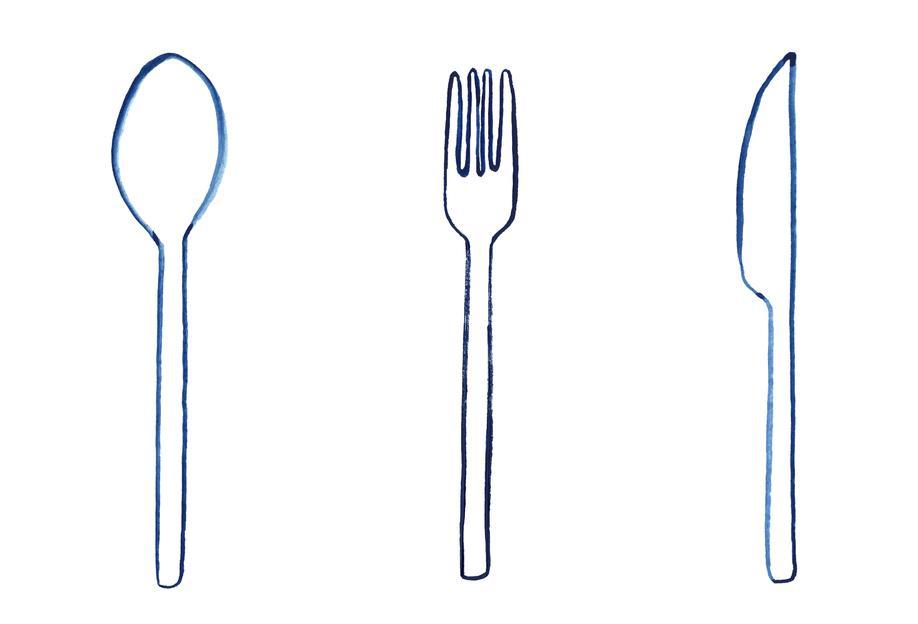 Kitchen Objects Vol.1 Impression sur alu-Dibond