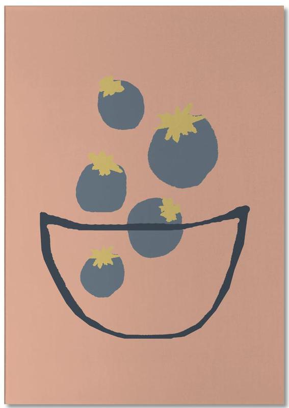 Joyful Fruits - Blueberries Notepad