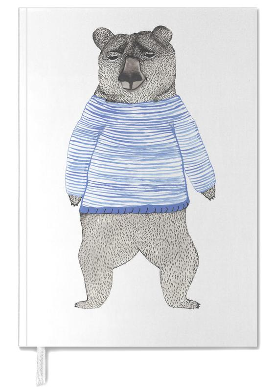 Bear with Stripes Personal Planner