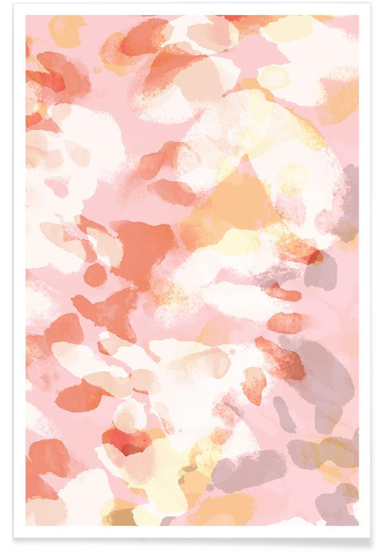 Floral Pastell Poster