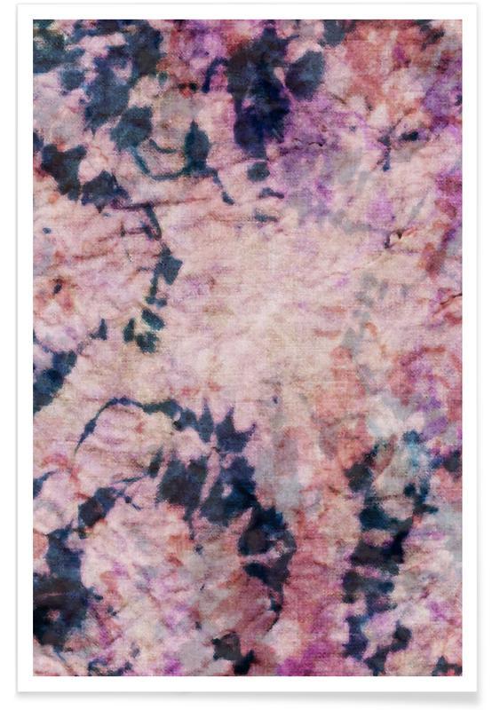 Textile Study Rosé Poster