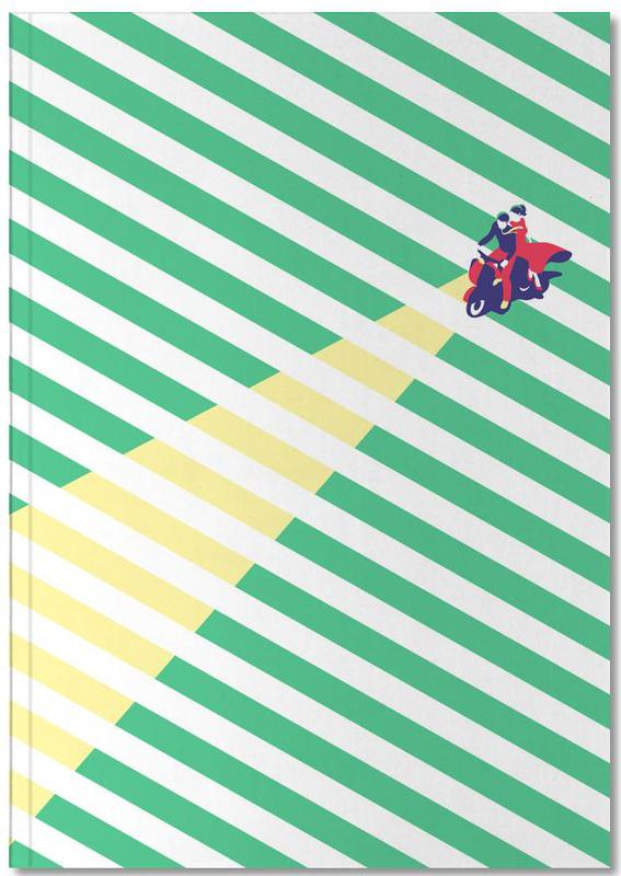 Vespa Love Notebook