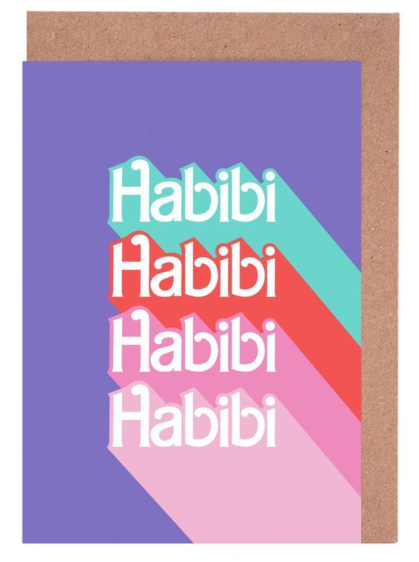 Habibi Rainbow Grußkartenset