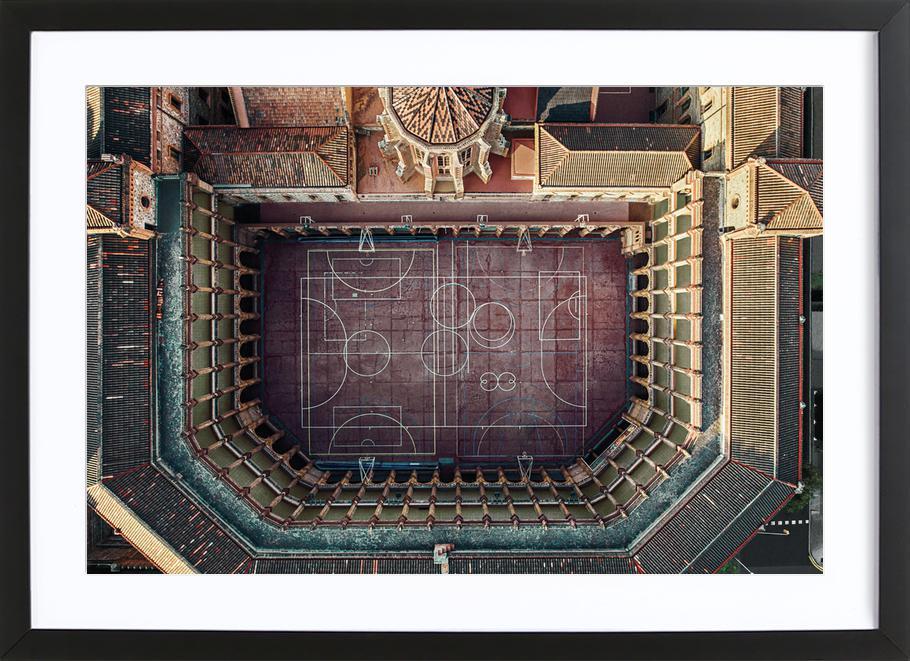 Maristas Framed Print