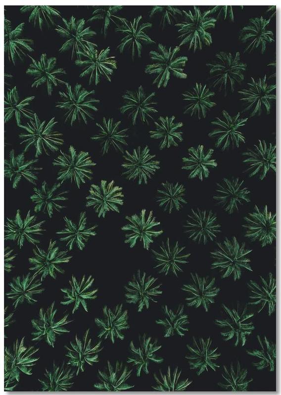 Sleeping Palm Trees Notebook