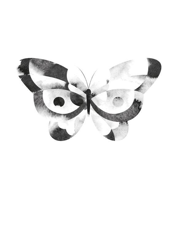 Dark Butterfly Canvas Print
