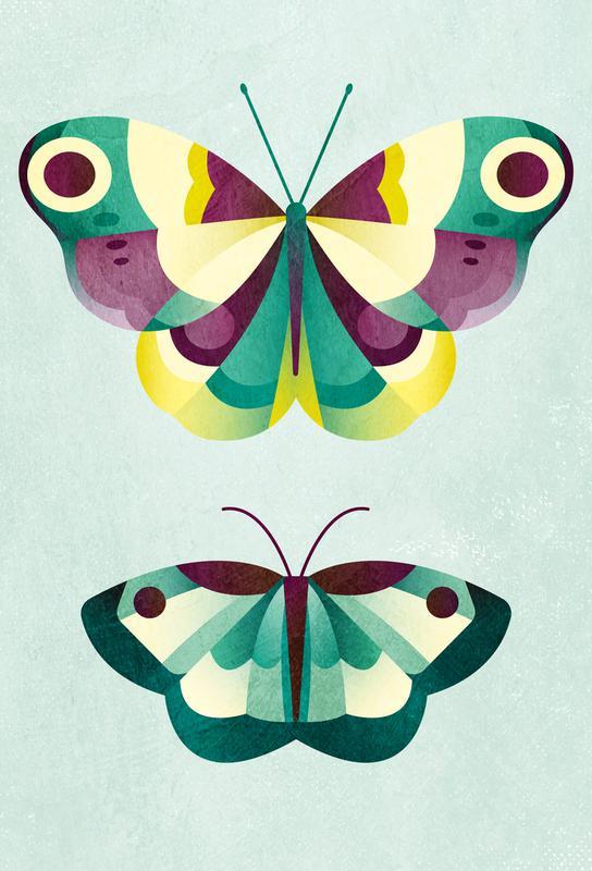 Schmetterlinge Acrylic Print