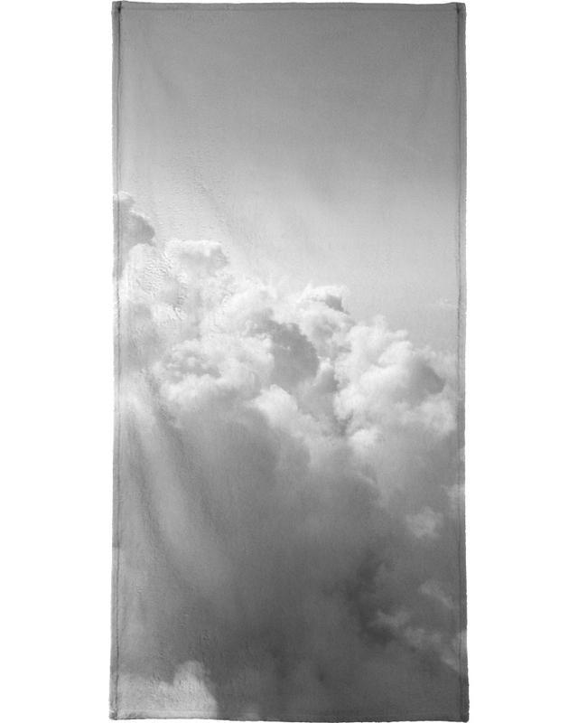 Clouds II Bath Towel